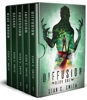 Cover for Diffusion Box Set: An Alien First Contact Adventure Series