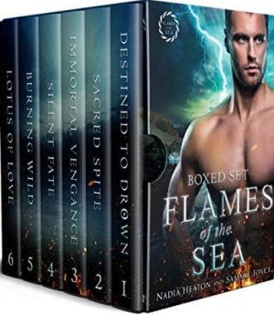 Cover for Flames of the Sea Complete Series Boxed Set