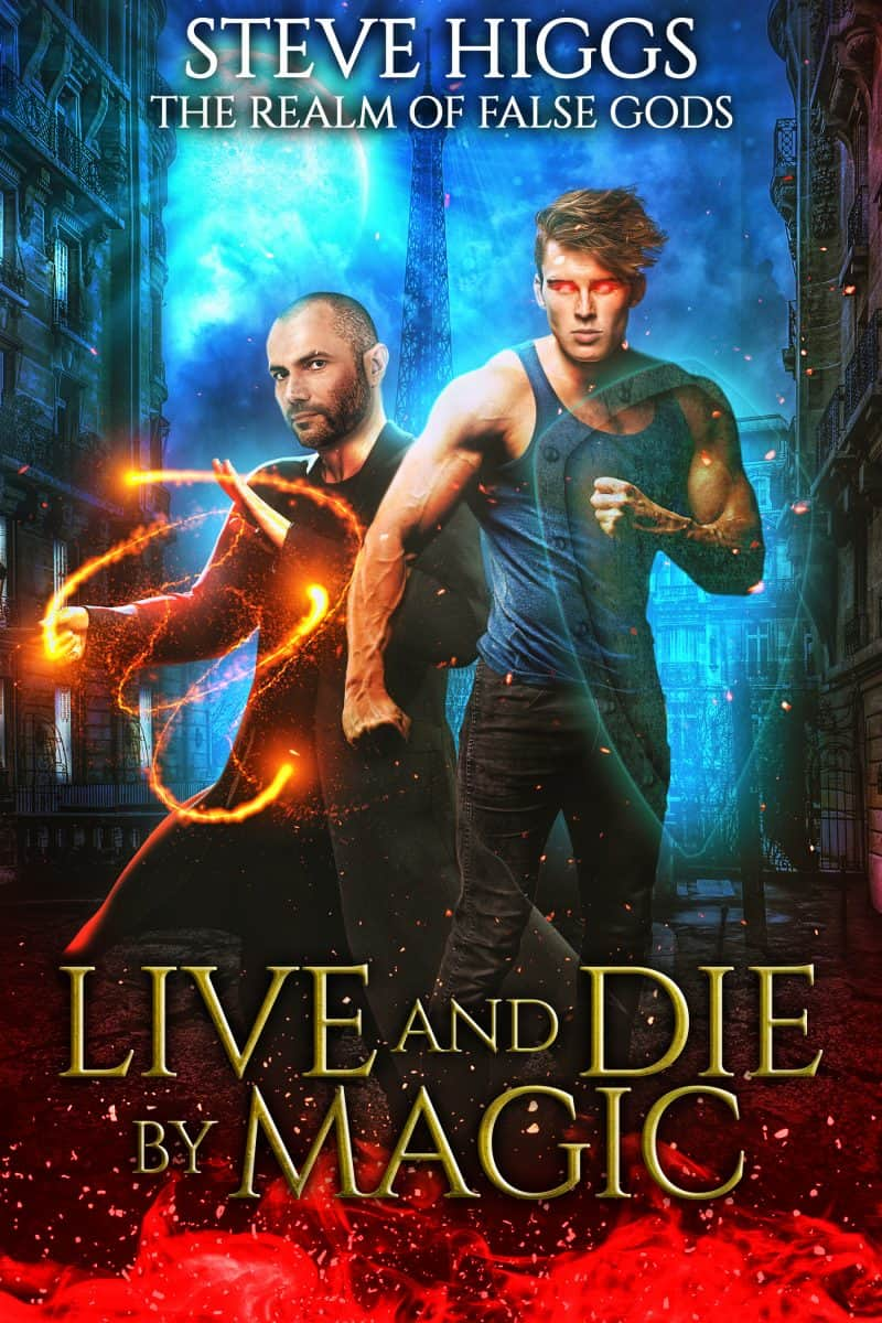 Cover for Live and Die by Magic
