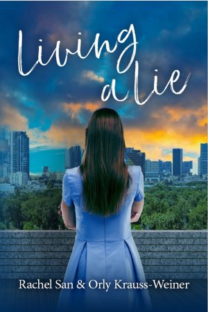 Cover for Living a Lie