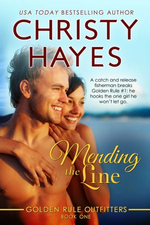 Cover for Mending the Line