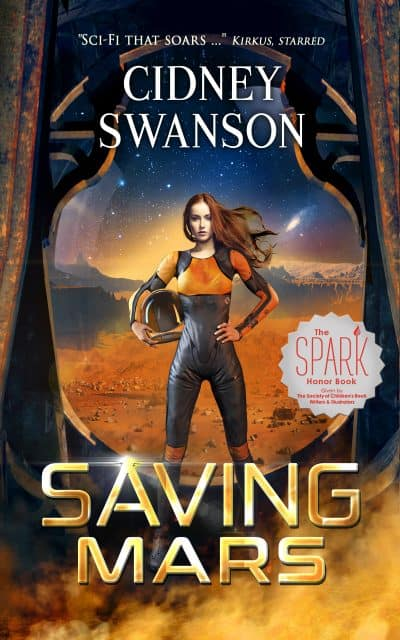 Cover for Saving Mars