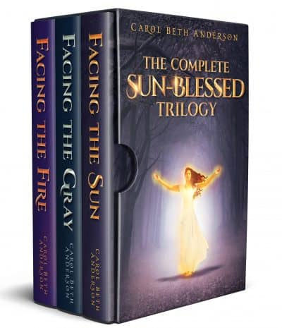 Cover for The Complete Sun-Blessed Trilogy
