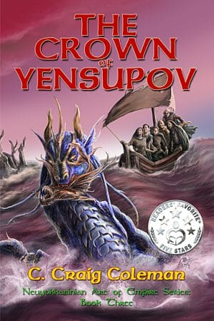 Cover for The Crown of Yensupov