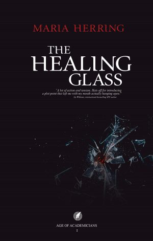 Cover for The Healing Glass