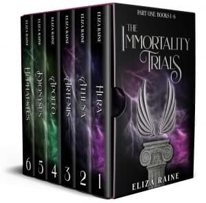 Cover for The Immortality Trials: Books 1-6