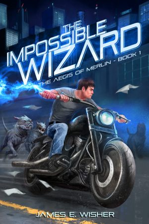 Cover for The Impossible Wizard