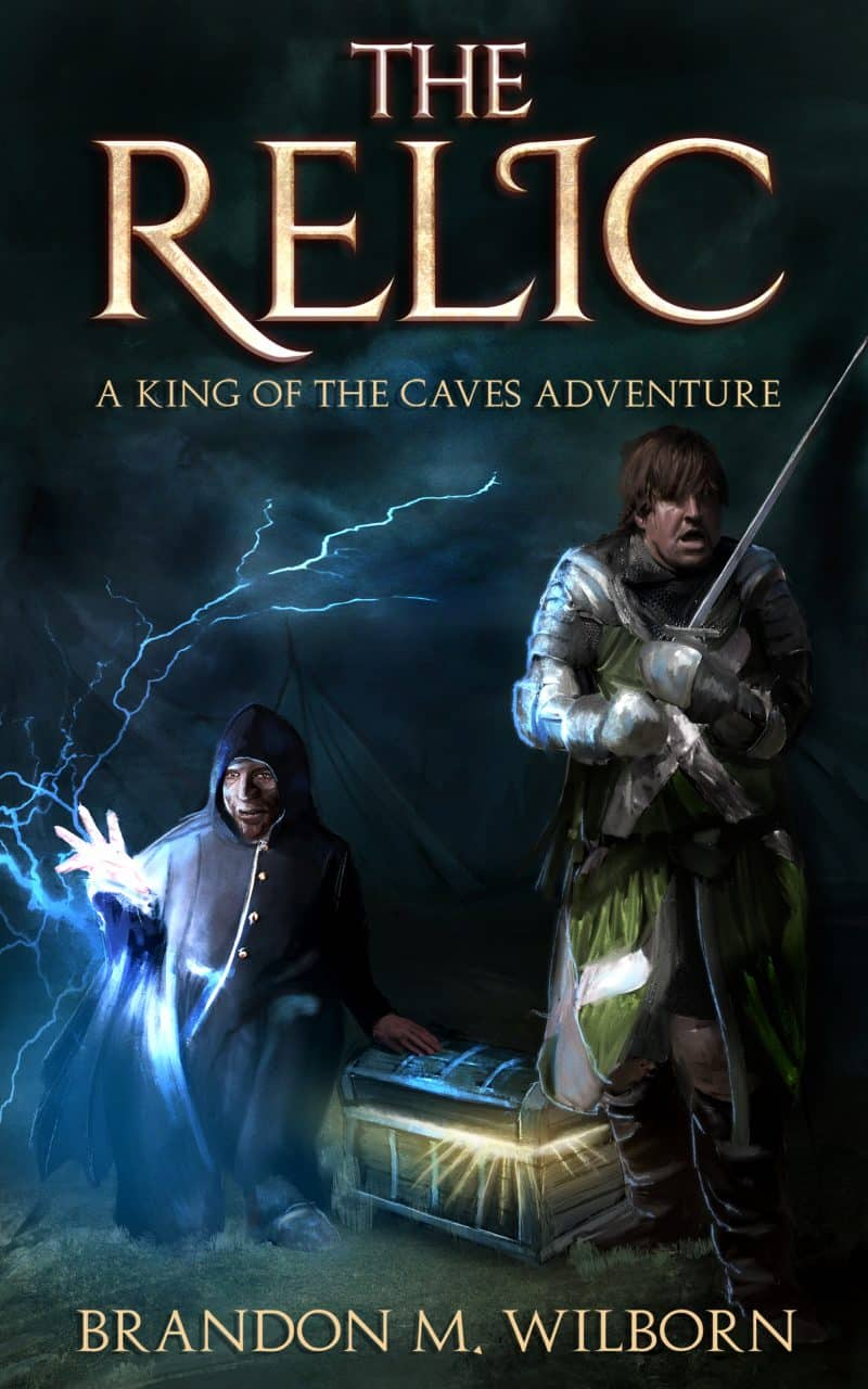 Cover for The Relic: A King of The Caves Adventure Story