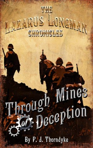 Cover for Through Mines of Deception