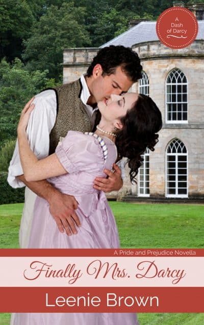 Cover for Finally Mrs. Darcy