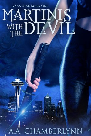 Cover for Martinis with the Devil
