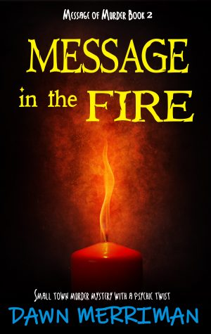 Cover for Message in the Fire