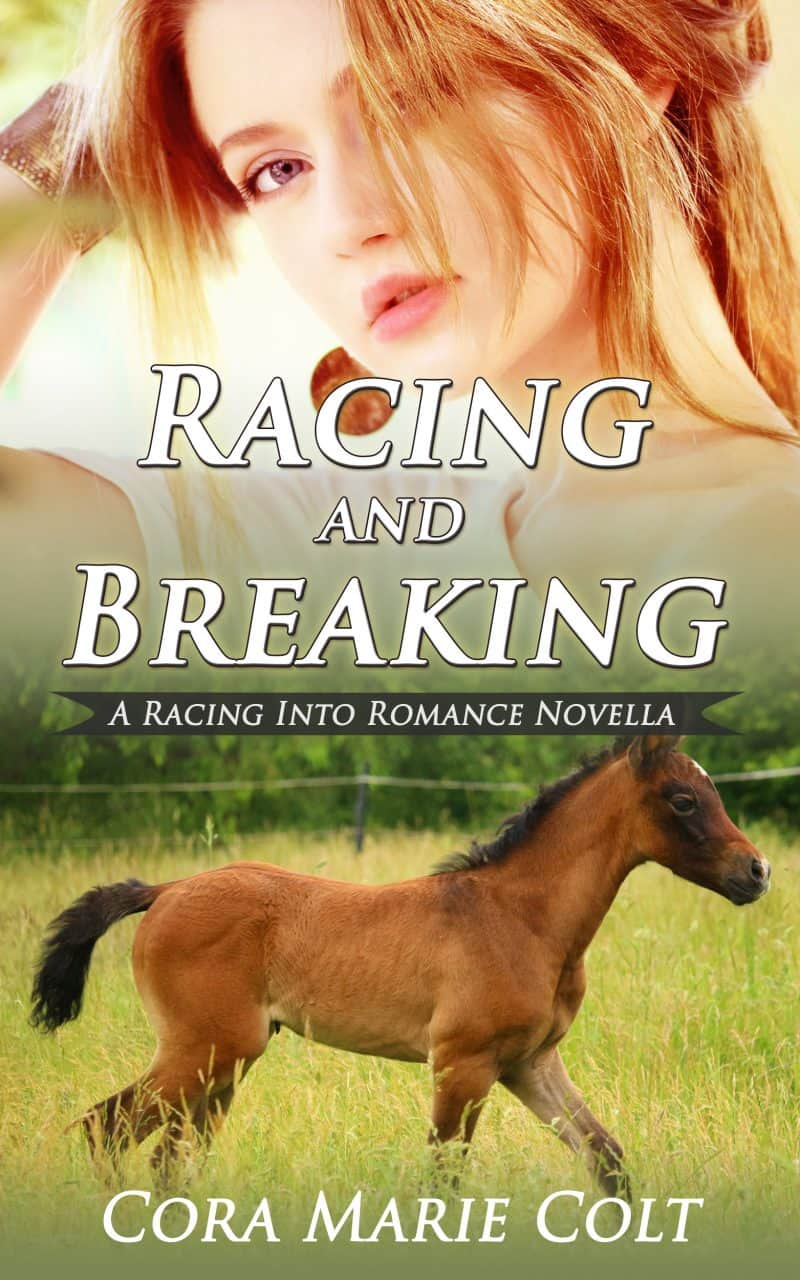 Cover for Racing and Breaking: (A Racing Into Romance Novella)