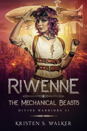 Cover for Riwenne & the Mechanical Beasts