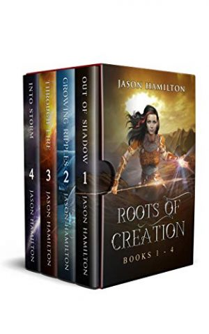 Cover for Roots of Creation Books 1-4