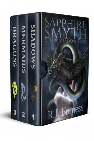 Cover for Sapphire Smyth & The Shadow Five (Parts 1-3): Box Set
