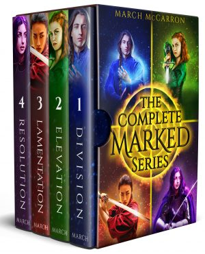 Cover for The Complete Marked Series