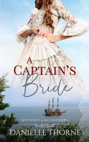 Cover for A Captain's Bride
