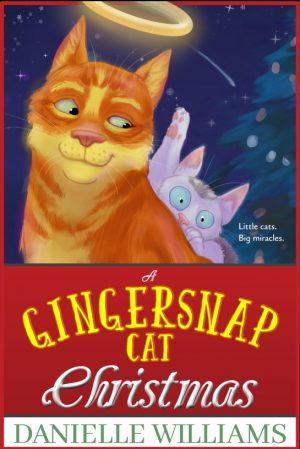 Cover for A Gingersnap Cat Christmas