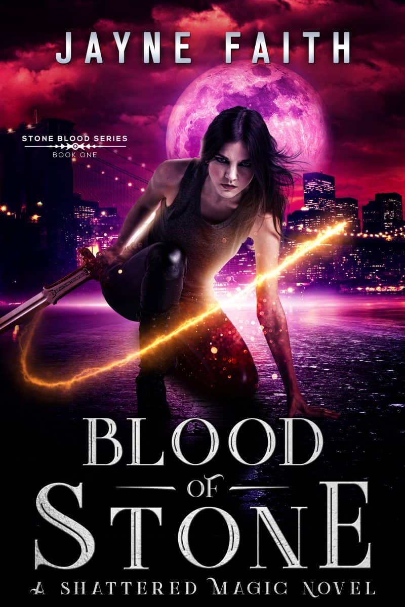 Cover for Blood of Stone: A Fae Urban Fantasy