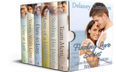Cover for Finding Love Series Clean Romance Boxed Set: Books 1-6