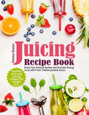 Cover for Juicing Recipe Book