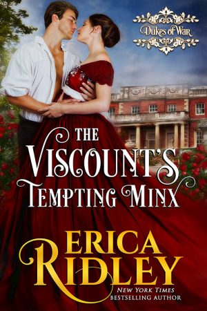Cover for The Viscount's Tempting Minx