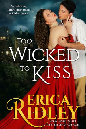Cover for Too Wicked to Kiss
