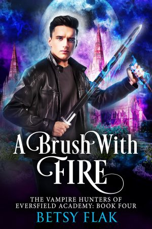 Cover for A Brush with Fire