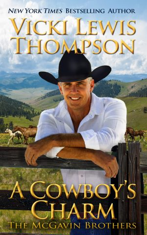 Cover for A Cowboy's Charm