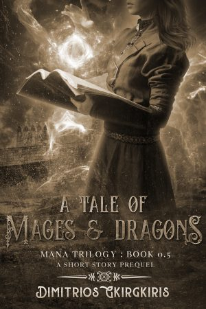 Cover for A Tale of Mages & Dragons