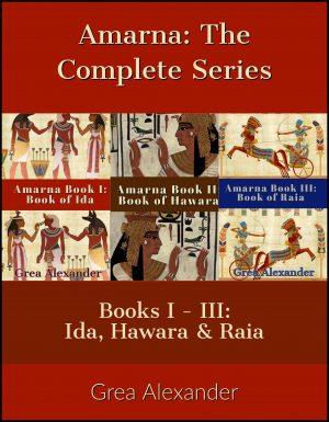 Cover for Amarna: The Complete Series
