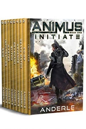 Cover for Animus Omnibus #1