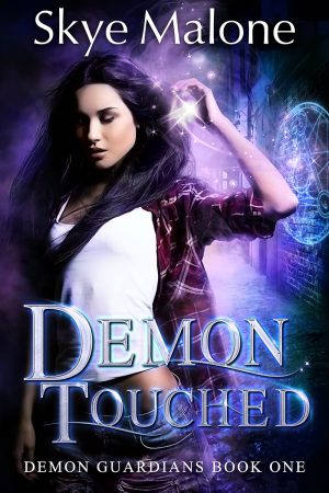 Cover for Demon Touched