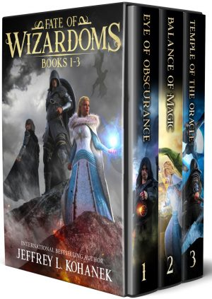 Cover for Fate of Wizardoms Boxed Set