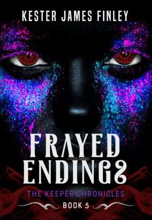 Cover for Frayed Endings