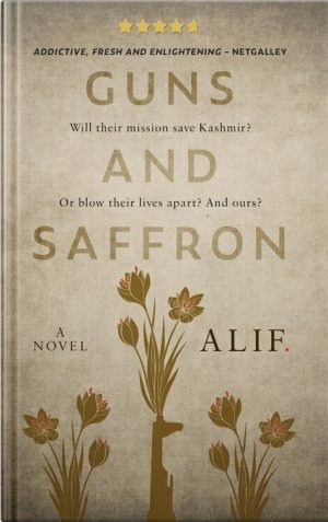 Cover for Guns and Saffron