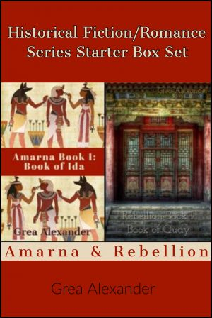 Cover for Historical Fiction/Romance Series Starter Box Set: Amarna & Rebellion
