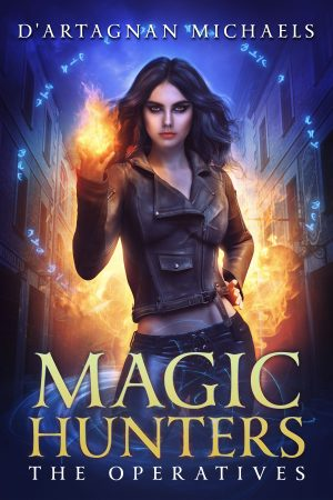 Cover for Magic Hunters: The Operatives