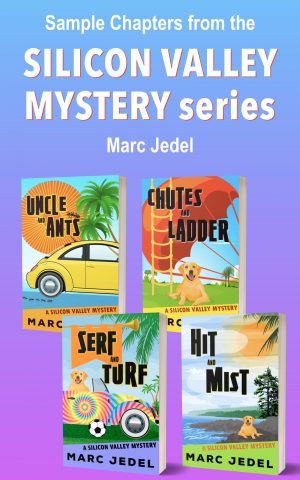 Cover for Sample Chapters from Silicon Valley Mystery series