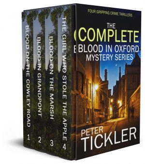 Cover for The Complete Blood in Oxford Mystery Series