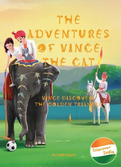 Cover for The Adventures of Vince the Cat: Vince Discovers the Golden Triangle