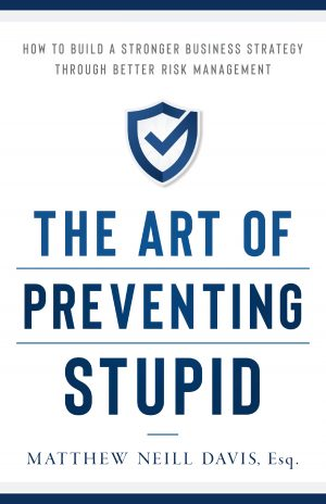 Cover for The Art of Preventing Stupid