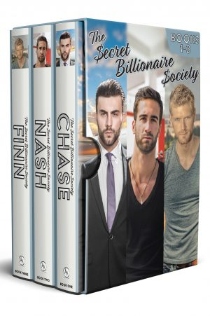 Cover for The Secret Billionaire Society Collection Books 1-3: Boxed Set