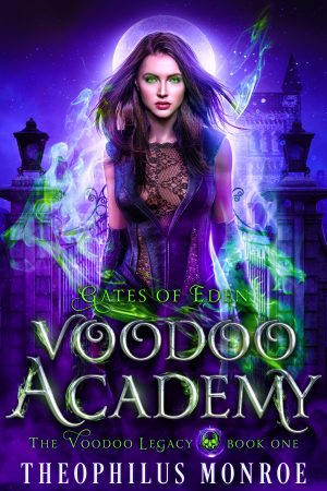 Cover for Voodoo Academy