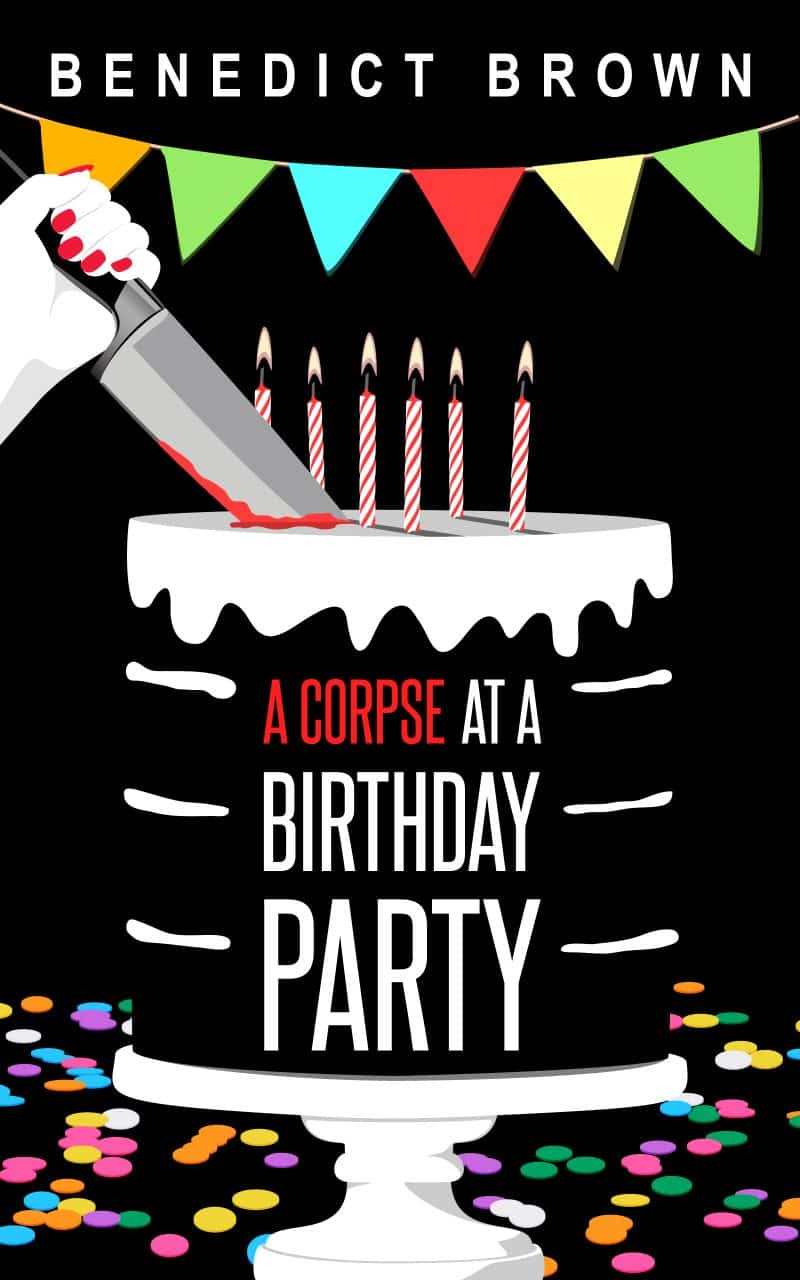 Cover for A Corpse at a Birthday Party