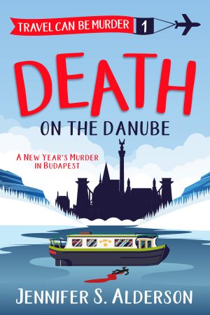 Cover for Death on the Danube: A New Year's Murder in Budapest