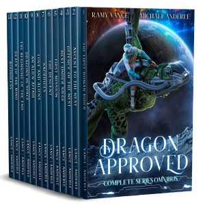 Cover for Dragon Approved Complete Series Boxed Set