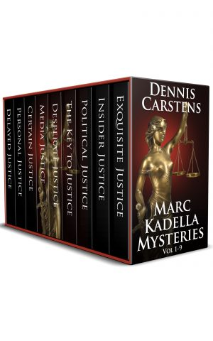 Cover for Marc Kadella Mysteries Vol 1-9