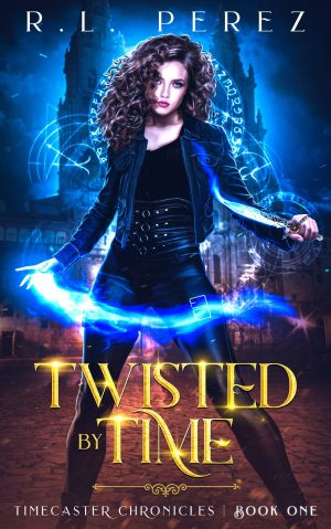 Cover for Twisted by Time
